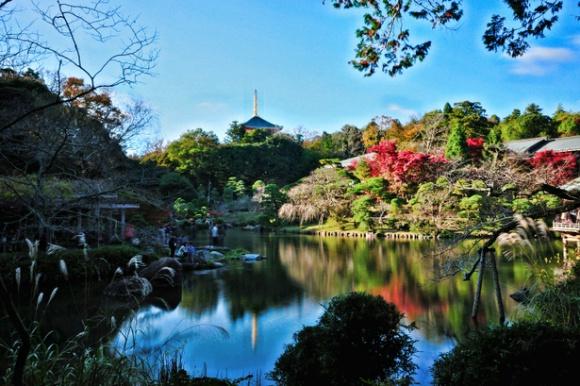 成田山公園@成田山