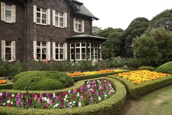 西洋庭園@旧古河庭園