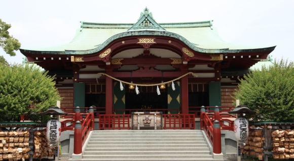 亀戸神社@亀戸
