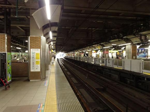 恵比寿駅ホーム