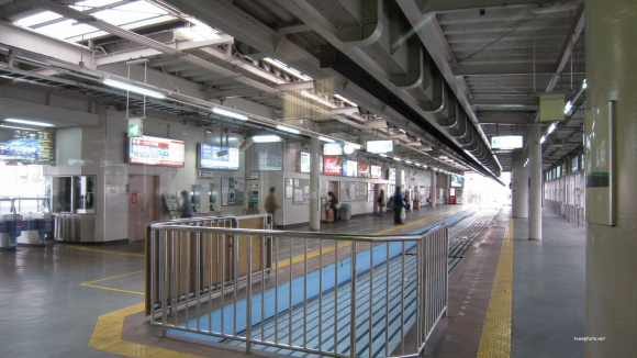 湘南モノレール大船駅ホーム