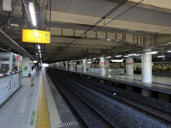 北千住駅ホーム