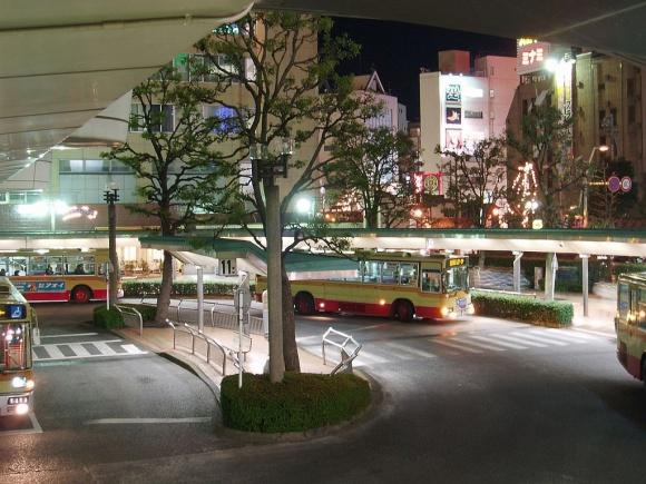 本厚木駅周辺・夜