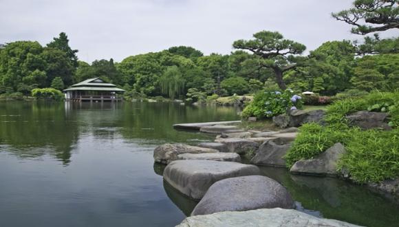 清澄庭園@東京メトロ