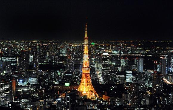 ライトアップ@東京タワー