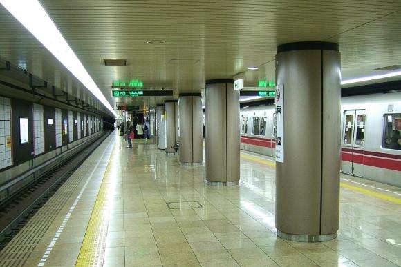 両国駅ホーム