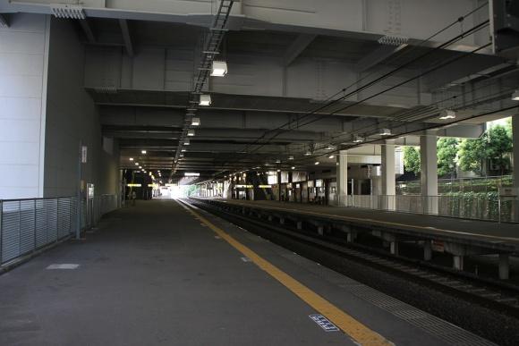 南大沢駅ホーム