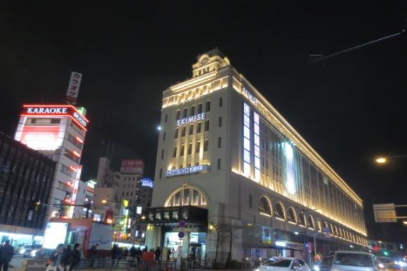 浅草駅・夜