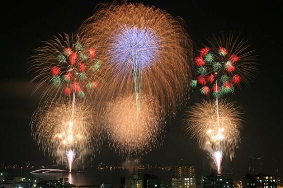 横須賀開国祭花火大会@神奈川