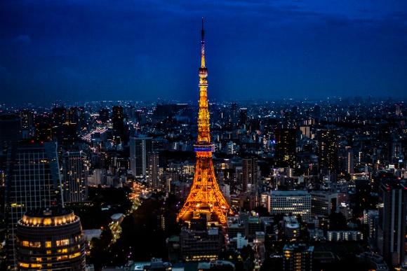 虎ノ門夜景