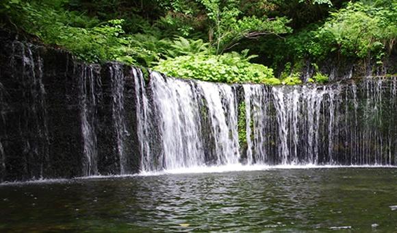白糸の滝@軽井沢