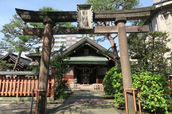 市姫神社@近江町市場